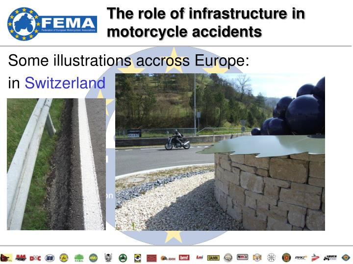 The role of infrastructure in motorcycle accidents
