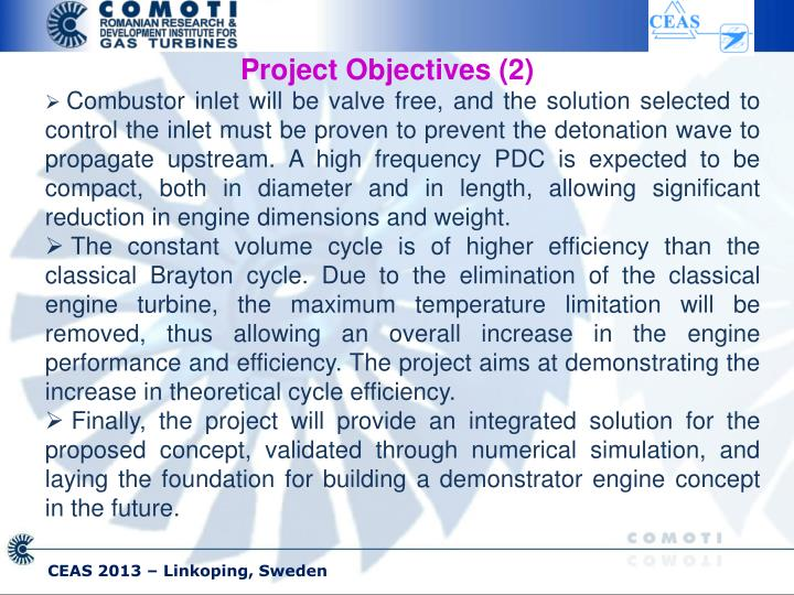 Project Objectives (2)