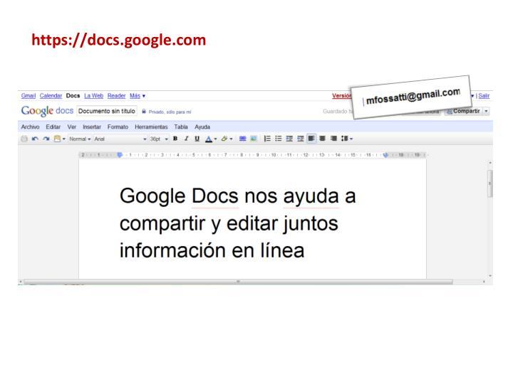 https://docs.google.com