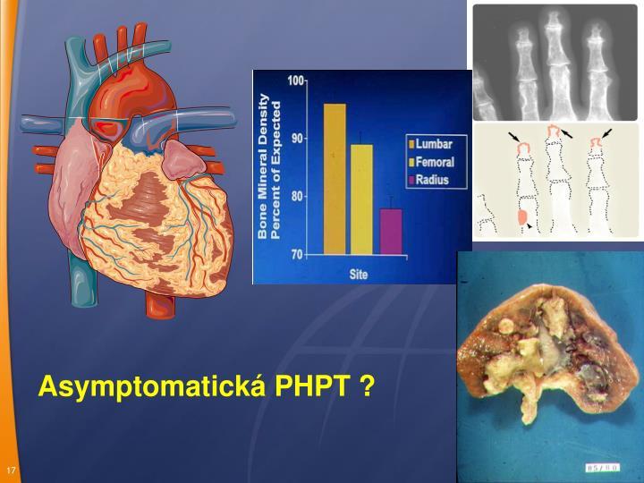 Asymptomatická PHPT ?