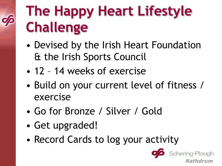 The Happy Heart Lifestyle Challenge