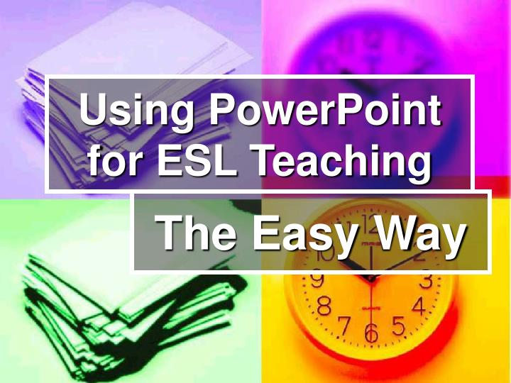 use of technology in teaching esl