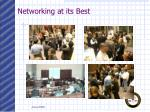 networking at its best