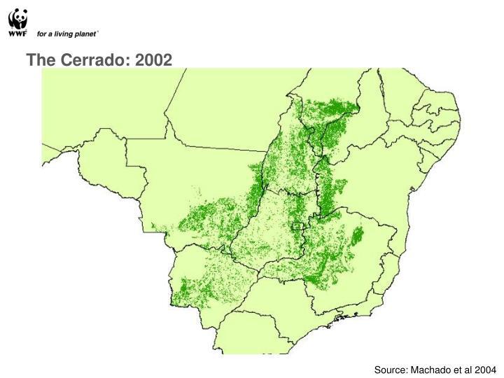 The Cerrado: 2002