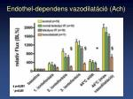 endothel dependens vazodilat ci ach