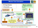 mission fuel calculation