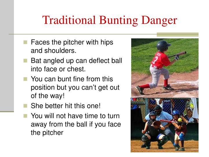 Traditional Bunting Danger