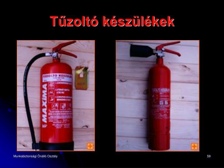 Tűzoltó készülékek