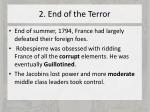 2 end of the terror