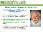 most senior citizens 1 concern