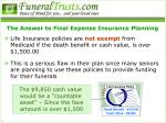 the answer to final expense insurance planning