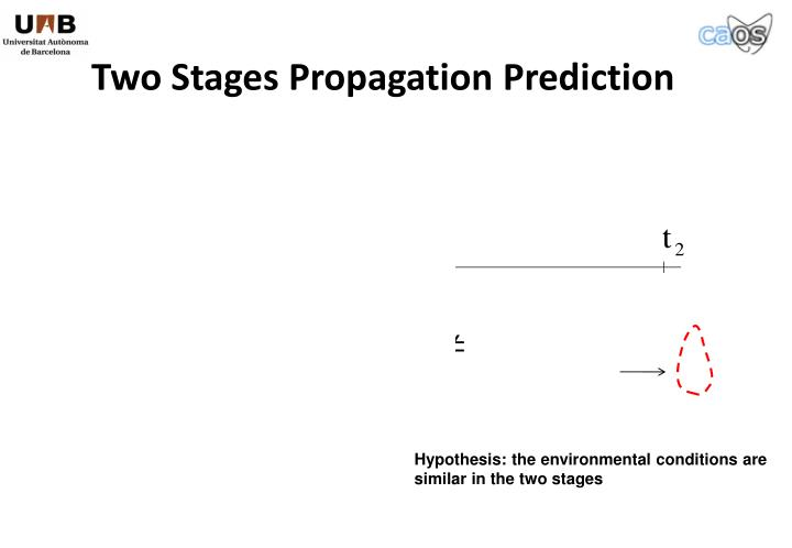 Two Stages Propagation Prediction