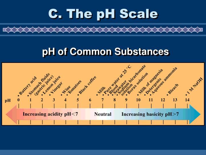 C. The pH Scale