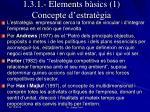 1 3 1 elements b sics 1 concepte d estrat gia