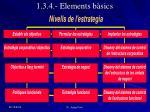 1 3 4 elements b sics