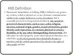 hib definition