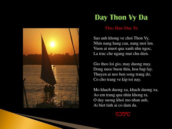 Day Thon Vy Da
