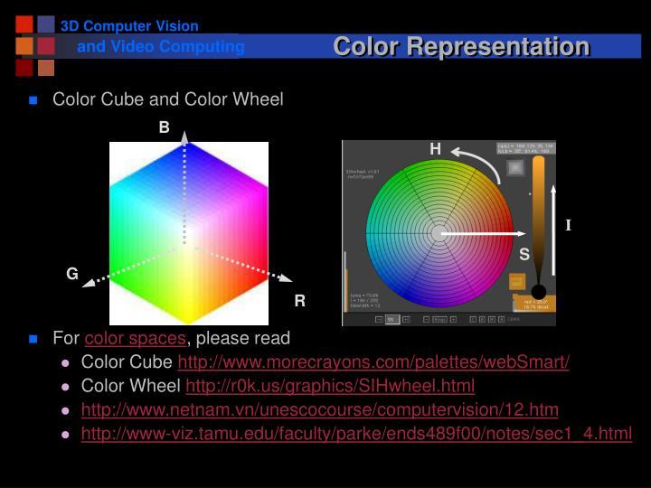 Color Representation