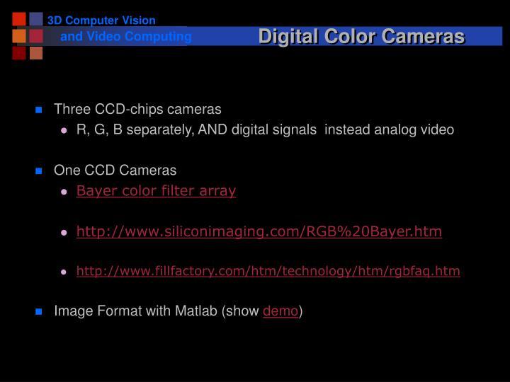 Digital Color Cameras
