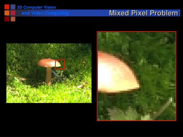 Mixed Pixel Problem