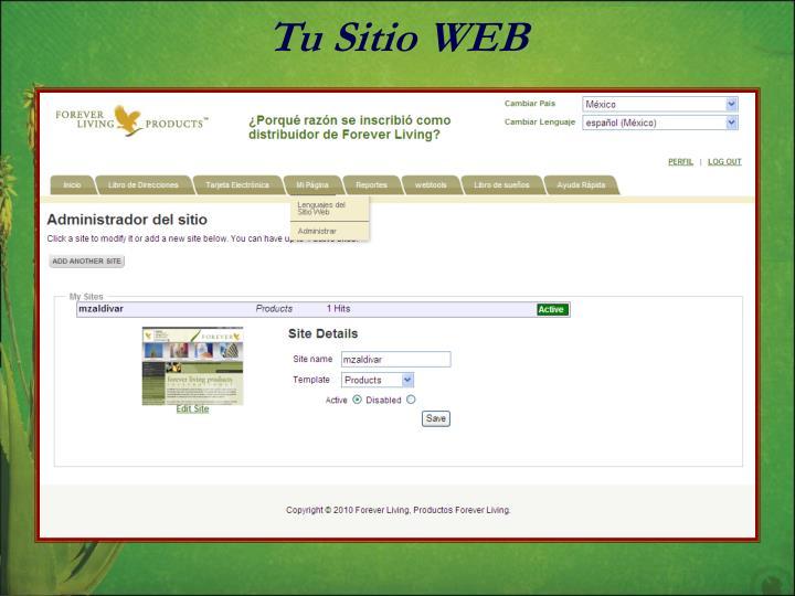 Tu Sitio WEB