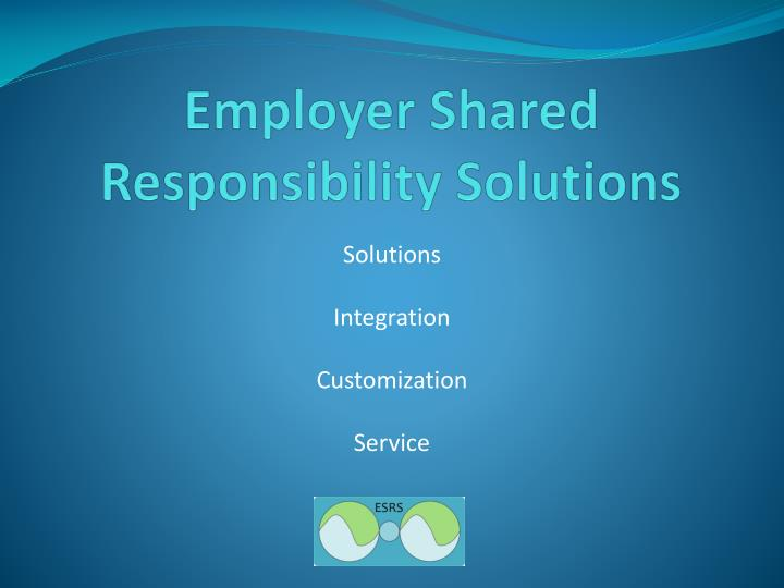 employer shared responsibility solutions n.