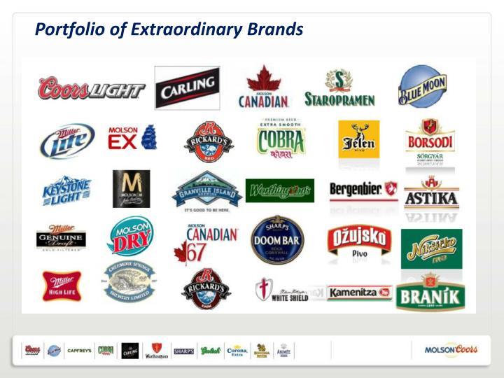 Portfolio of Extraordinary Brands