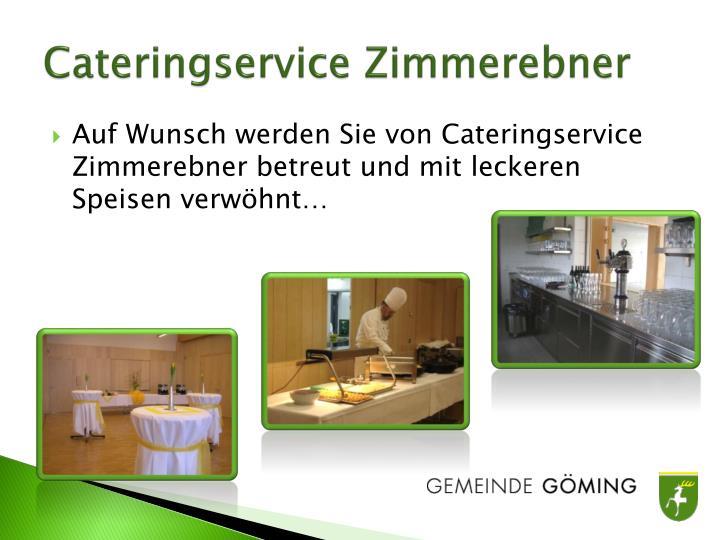 Cateringservice Zimmerebner