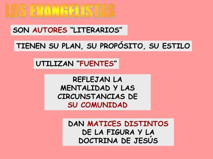 LOS EVANGELISTAS