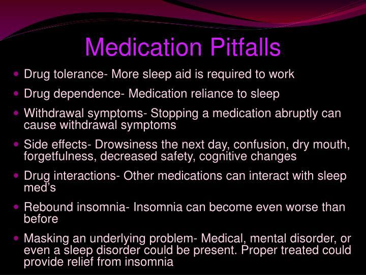 Medication Pitfalls