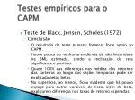 testes emp ricos para o capm5
