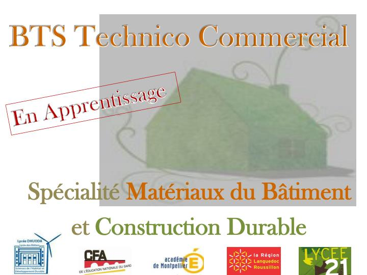 sp cialit mat riaux du b timent et construction durable n.
