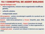 10 1 conceptul de agent biologic