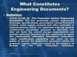 what constitutes engineering documents