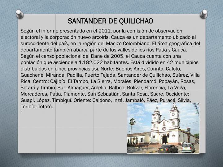SANTANDER DE QUILICHAO
