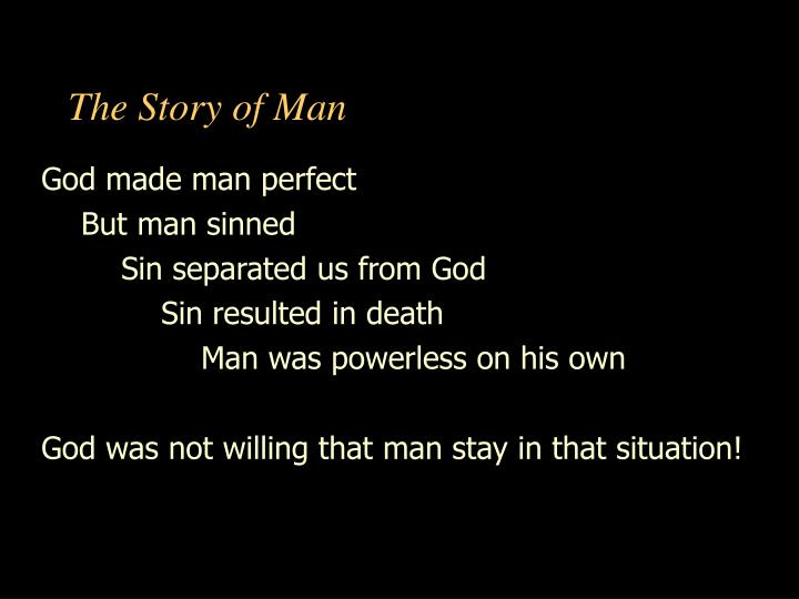 PPT - The Story of Man PowerPoint Presentation - ID:5050641
