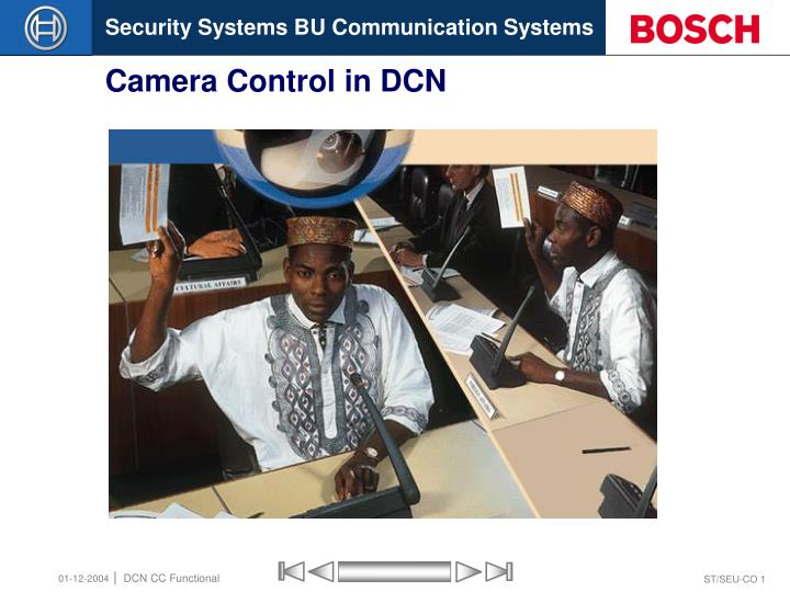 camera control in dcn n.