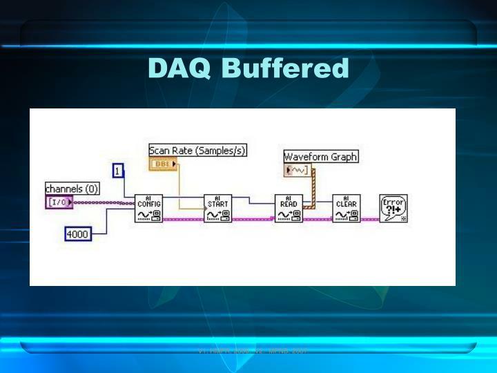 DAQ Buffered