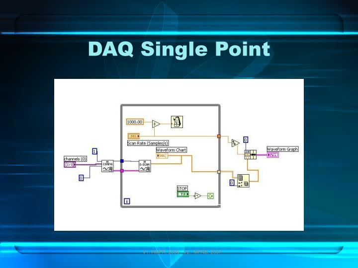 DAQ Single Point