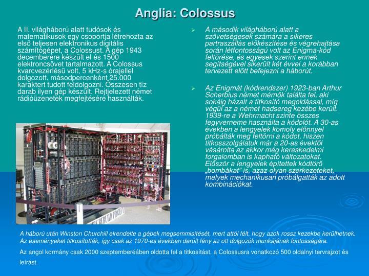 Anglia: Colossus