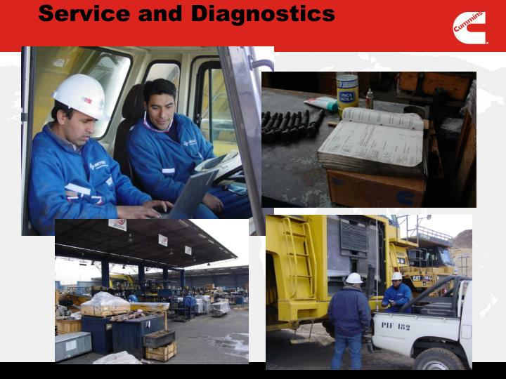 Service and Diagnostics