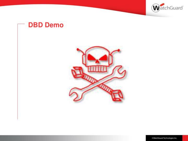 DBD Demo