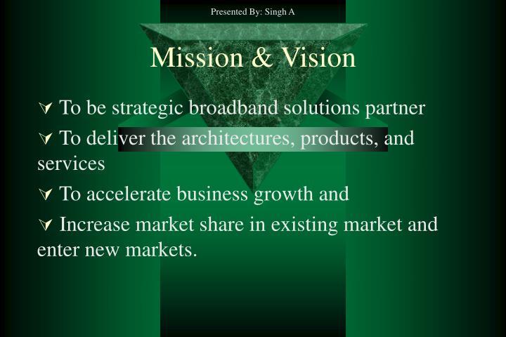 Mission vision