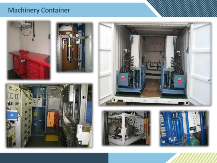 Machinery Container