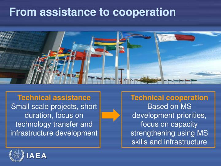 From assistance to cooperation