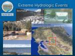 extreme hydrologic events