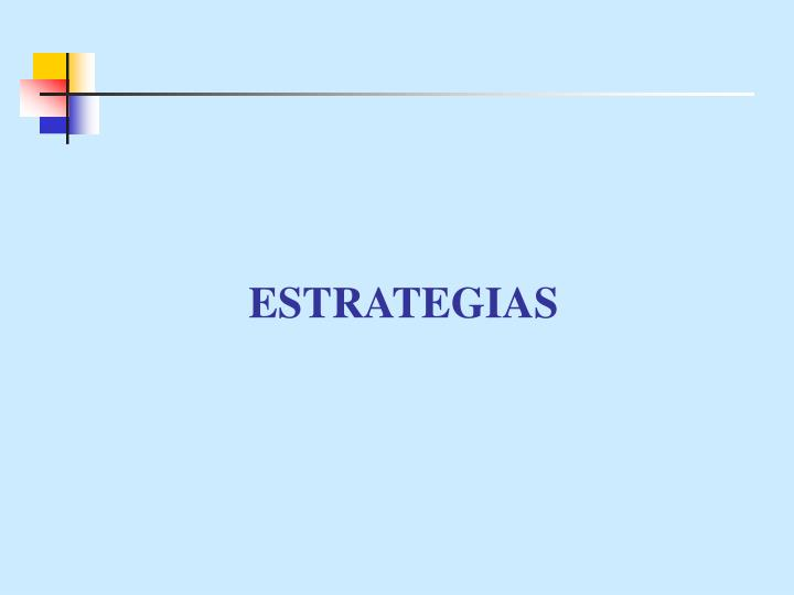 ESTRATEGIAS