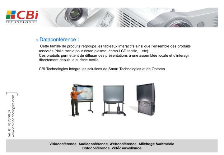 Dataconférence :