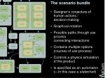 the scenario bundle