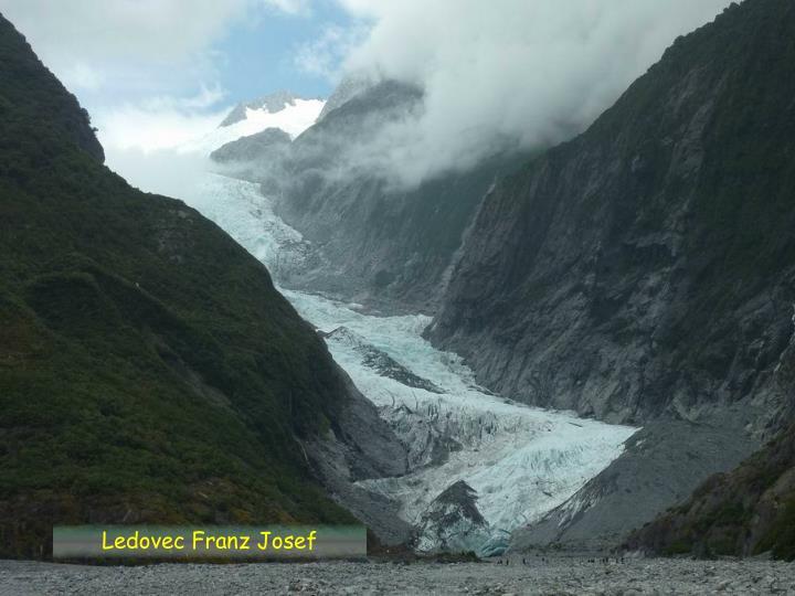 Ledovec Franz Josef